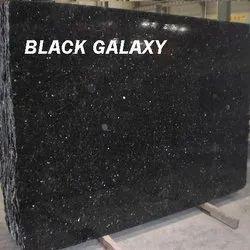Black Galaxy Granite Stone, Thickness: 16-20 mm
