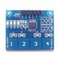 TTP224 4 Way Capicitive Touch Switch Module