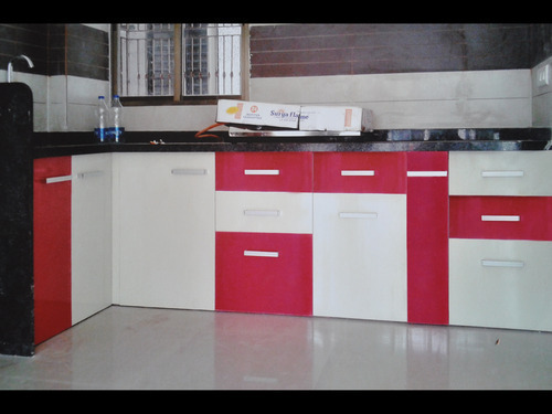 Designer PVC Kitchen Cabinet at Rs 350 /square feet | Sector 28 ...