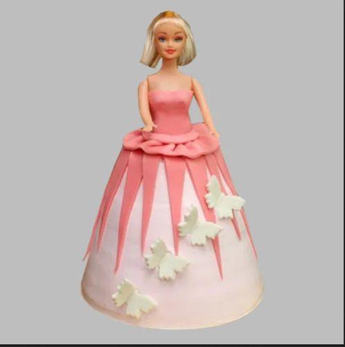 Gorgeous Barbie Cake 2kg Chocolate At Rs 3799 Pack Andheri West