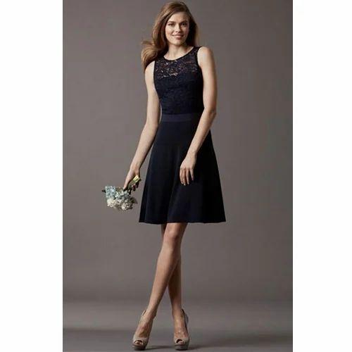 355688ec8edb Black Short Dresses, Rs 8000 /piece, S.B. International   ID ...