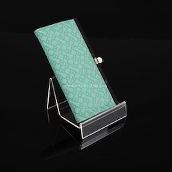 Acrylic Single Wallet Display Stand