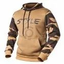 Camouflage Fabric Hoodie