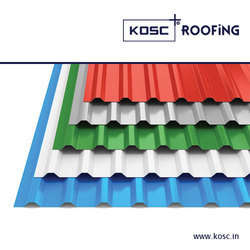 Trapezodial Profile (Colour Coated Roofing Sheets)