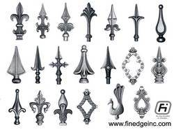 Cast Iron Railing Heads Or Spears