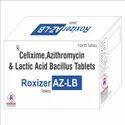 Roxizer AZ-LB Cefixime, Azithromycin & Lactic Acid  Bacillus Tablets