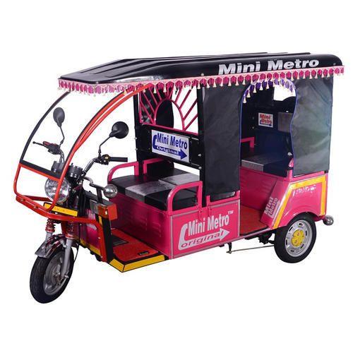 Mini Metro E Rickshaw Charging 9 10 Hrs Speed 22 Kmph Id
