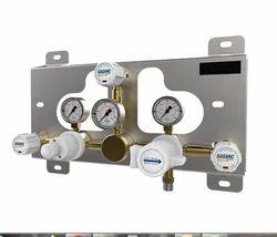 Tech Master GPD4030 / GPD4230 Series - Single Stage Twin Cylinder Autochange Gas Control Panel