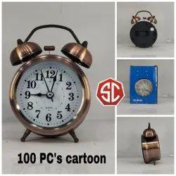 Copper Bell Clock