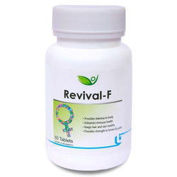 Biotrex Nutraceutical Revival F Women Multivitamin Minerals Tablets, Packaging Type: Bottle