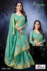 Designer Wedding Saree
