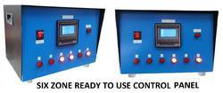 Six Zone PWHT/SR Temperature Control Panel