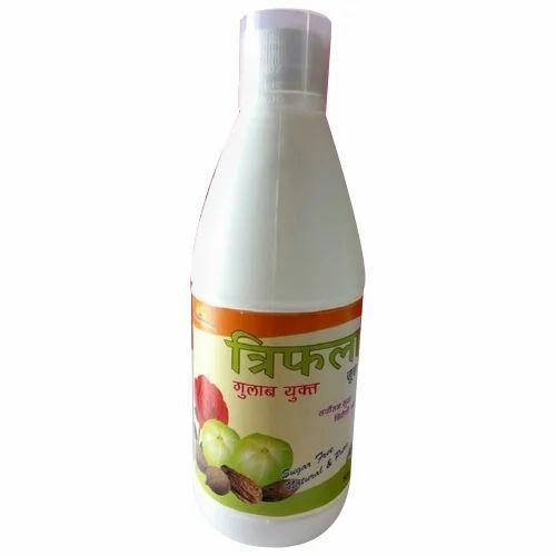 Alantra Brown Triphala Rose Juice, Pack Type: Bottle