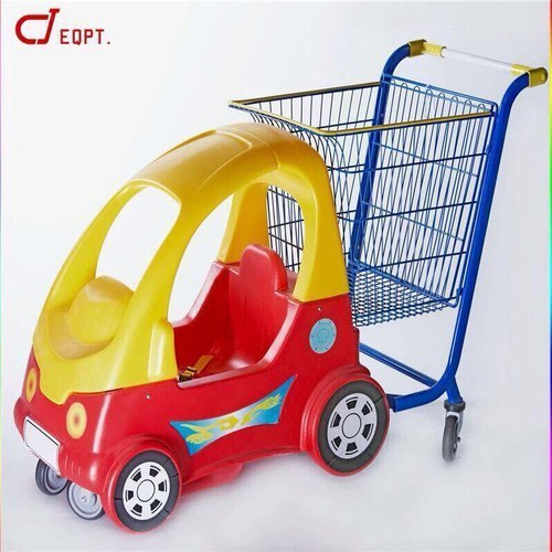 Toy Car With Shopping Trolley