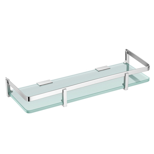 Urban Transparent Toughened Glass Shelf