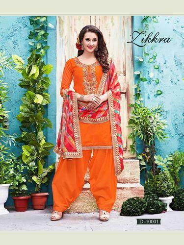 ffc1c56083 Casual Designer Punjabi Cotton Suit, Rs 2303 /piece, Gunj Fashion ...
