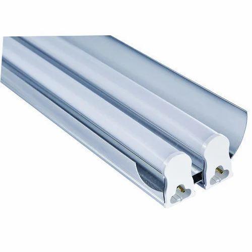 Fluorescent Light Housing: T5 LED Double Tube Light Housing With Reflector, Length: 4