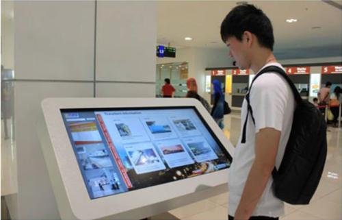 Information Touch Screen Kiosk, टच स्क्रीन कियोस्क in Kirti Nagar, New  Delhi , RIMS Global | ID: 19898011091