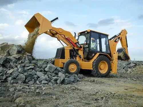 Cat 424B2 Backhoe Loader