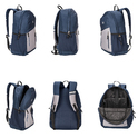 Killer Munich 29L Polyester Blue & Grey Laptop Backpack