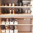 Adjustable Shoe Organizer Double Shoe Rack