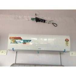 White Hitachi Split Air Conditioner, Capacity: 1-5 Tons