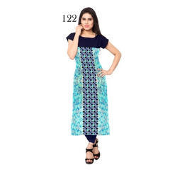 Digital Printed Casual Wear Kurti