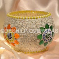 Decorative Mosaic Votive Holders