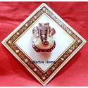 Marble Handicraft Ganesh Statue