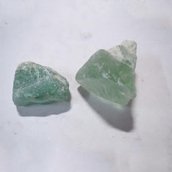 Green Fluorite Rough Stones