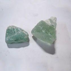 Green Fluorite Rough Stones