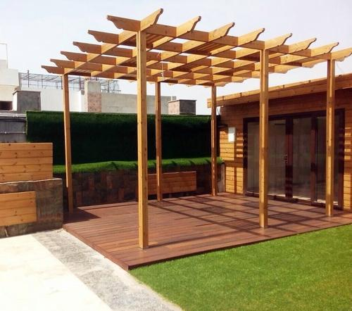 Thermo Pine Wooden Pergola View Specifications Details Of Wooden