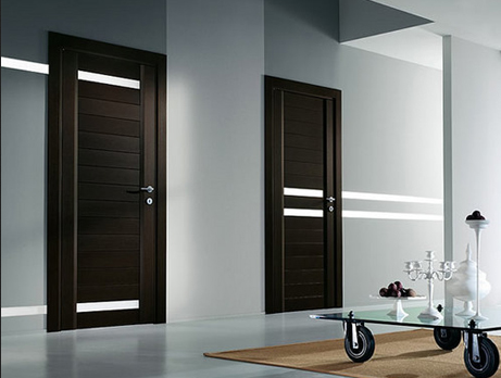 Brown Flush Doors