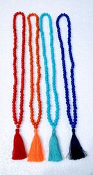 Round Prayer Beaded Mala, Size: 15 Inches
