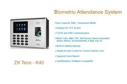ZKTeco-K40 Fingerprint Time Attendance