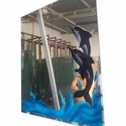 Wall Printed Glass