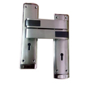 Brass, Zinc Silver Zinc Mortise Handle