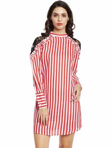 368b0a2e4f Beautiful Designer Rayon Red Western Wear Dress at Rs 950  piece ...