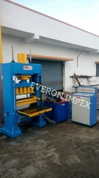 Automatic fly ash brick hyraulic press