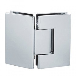 Stainless Steel Glass to Glass 90 Degree Shower Hinge