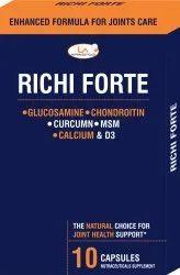 Richi Forte (Glucosamine  Chondroitin MSM Ca  Curcumin Capsules)