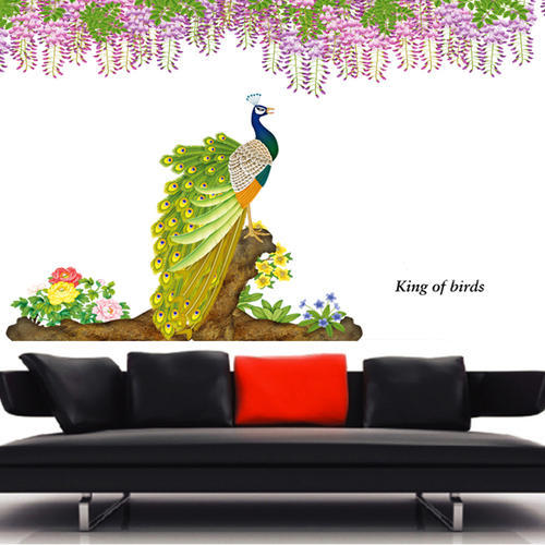 nature sheet , pvc wall decals wall stickers, size/dimension: 60*90
