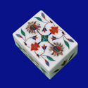 Marble Inlay Art Jewellery Boxes