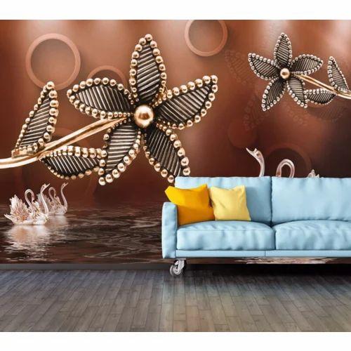 customised 3d wallpaper