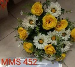 Muhil Artificial Rose Bunches