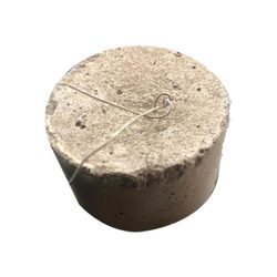 Round Cement Cover Block