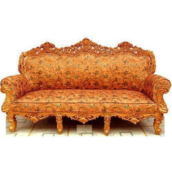 Wooden Carved Sofa