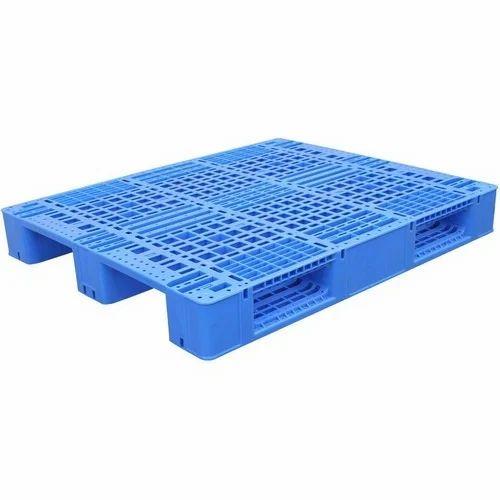Plastic Blue 2 Way Pallet