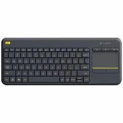 Logitech K400 Plus Wireless Keyboard Black