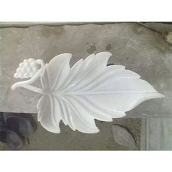 Marble Leaf Shaped Bowl